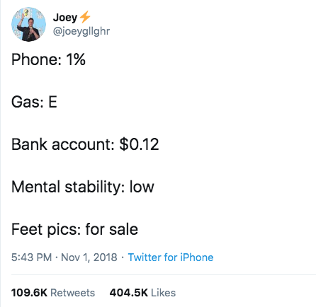@joeygllghr tweet